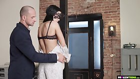 Kinky Play With Garterbelt Debilitating Teen